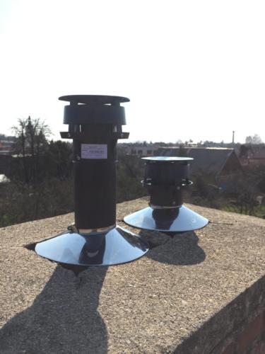 Vložkování komínového průduchu pro kondenzační kotel