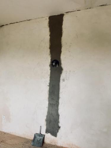 Demolice původní betonové vložky a osazení nové nerezové